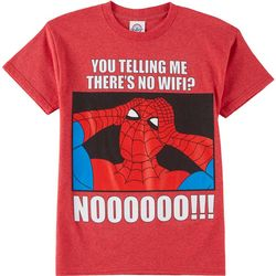 Marvel Spider-Man Big Boys No Wifi T-Shirt