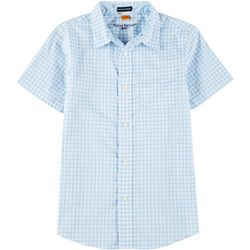 Tailor Vintage Big Boys Skyway Gingham Woven Shirt