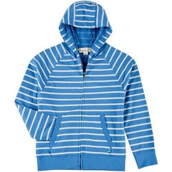 Tailor Vintage Big Boys Striped Hoodie