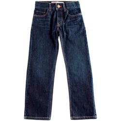 Levi's Big Boys Husky 505 Regular Fit Denim Jeans
