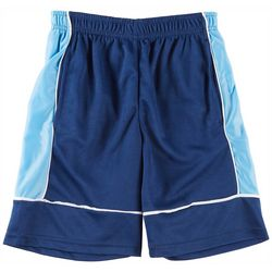 HPI Apparel Big Boys Colorblock Cationic Taping Shorts