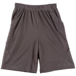 HPI Apparel Big Boys Solid Mesh Shorts