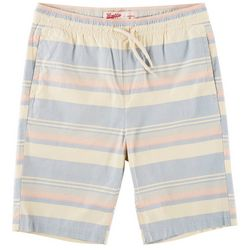 Brooklyn Cloth Big Boys Striped Poplin Shorts