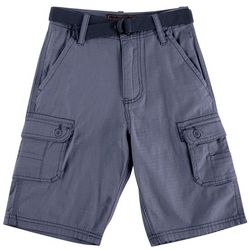 Wearfirst Big Boys Belted Cargo Shorts
