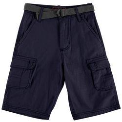 Wearfirst Big Boys Belted Cargo Shorts