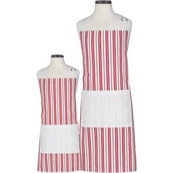 Handstand Kitchen Classic Striped Parent & Child Apron Set
