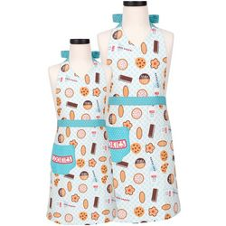 Kitchen Milk & Cookies Parent & Child Apron Set