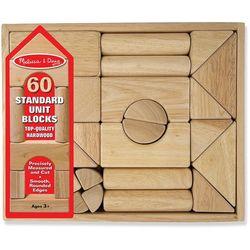 60-pc. Standard Unit Blocks Set