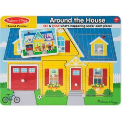 Melissa & Doug 8-pc. Around The House Sound Puzzle