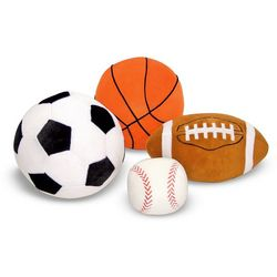 Melissa & Doug Sports ''Throw'' Pillows