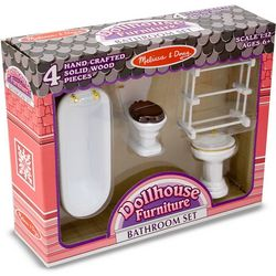 Dollhouse Bathroom Furniture Set