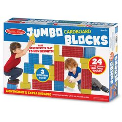 24-pc. Jumbo Cardboard Blocks