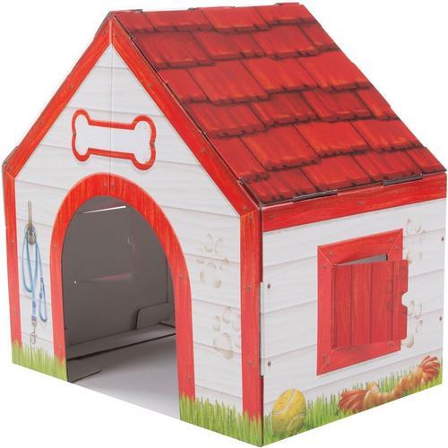 Melissa Doug Doghouse Plush Pet Indoor Playhouse