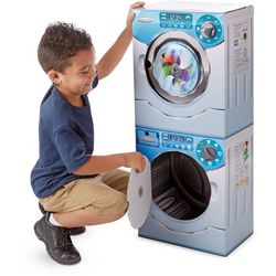 Melissa & Doug Washer/ Dryer Combo Play Appliances