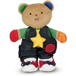 Melissa & Doug Teddy Wear Toddler Toy