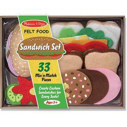 Felt Sandwhich Play Food Set