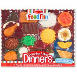 17-pc. Combine & Dine Dinner Set