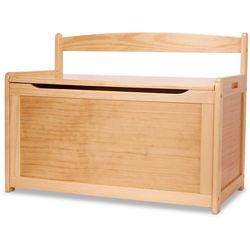 Kids Wooden Toy Chest