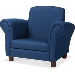 Kids Denim Blue Armchair