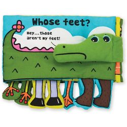Who's Feet Soft Activity Book