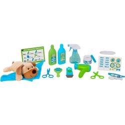 Melissa & Doug Wash & Trim Dog Grooming