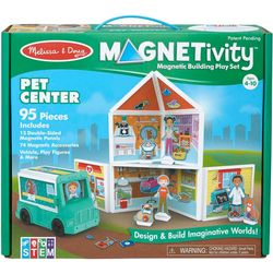 Melissa & Doug Magnetivity Magnetic Building Play Set