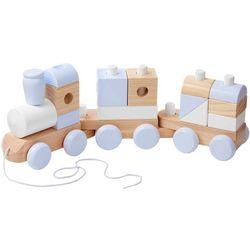 Wooden Jumbo Stacking Train