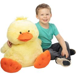 Melissa & Doug Jumbo Ducky Plush Toy