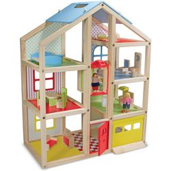 High-Rise Dollhouse & Furniture Set