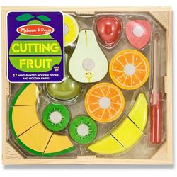 Melissa & Doug Wooden Cutting Fruit Play Set