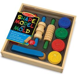 Melissa & Doug Shape, Model & Mold Clay Play Set