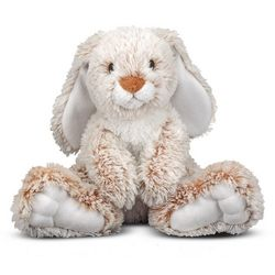 Melissa & Doug Burrow Bunny Rabbit Plush Toy