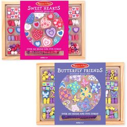 Melissa & Doug Wooden Bead Bundled Set