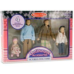 Melissa & Doug 4-pc. Victorian Doll Family