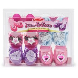 Melissa & Doug 4-pk. Step In Style Dress-Up Shoes