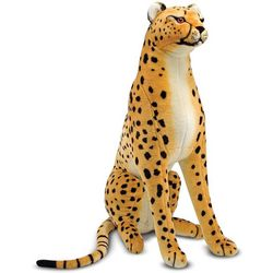 Giant Stuffed Cheetah
