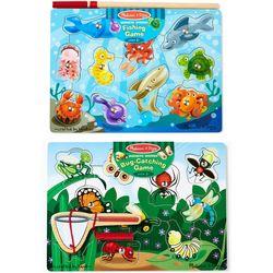 Melissa & Doug Fishing & Bug Catching Game