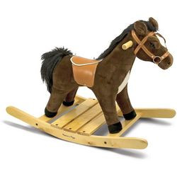 Rock & Trot Plush Rocking Horse