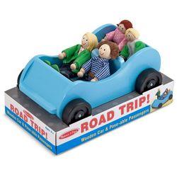 Melissa & Doug Road Trip Wooden Car & Passengers