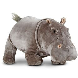 Large Hippo Stuffed Animal