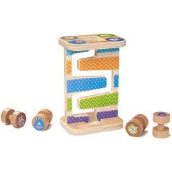 First Play Wooden Safari Zig-Zag Tower