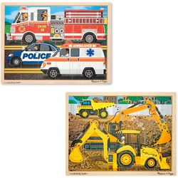 Melissa & Doug 24-pc. Construction & Rescue Jigsaw