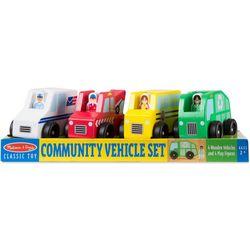 Community Wooden Vehicle Set