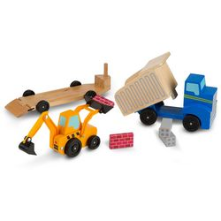 Toy Dump Truck & Loader Play Set