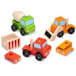 Stacking Construction Vehicles