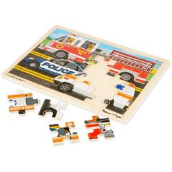 Melissa & Doug To the Rescue Wooden Jigsaw Puzzle