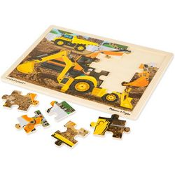 Melissa & Doug Diggers at Work Wooden Jigsaw Puzzle