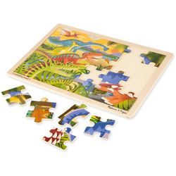 Melissa & Doug Dinosaur 24-pc. Wooden Jigsaw Puzzle