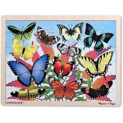 Melissa & Doug Butterfly Garden Wooden Jigsaw Puzzle