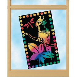 Melissa & Doug 10-pack Stained Glass Stratch Art